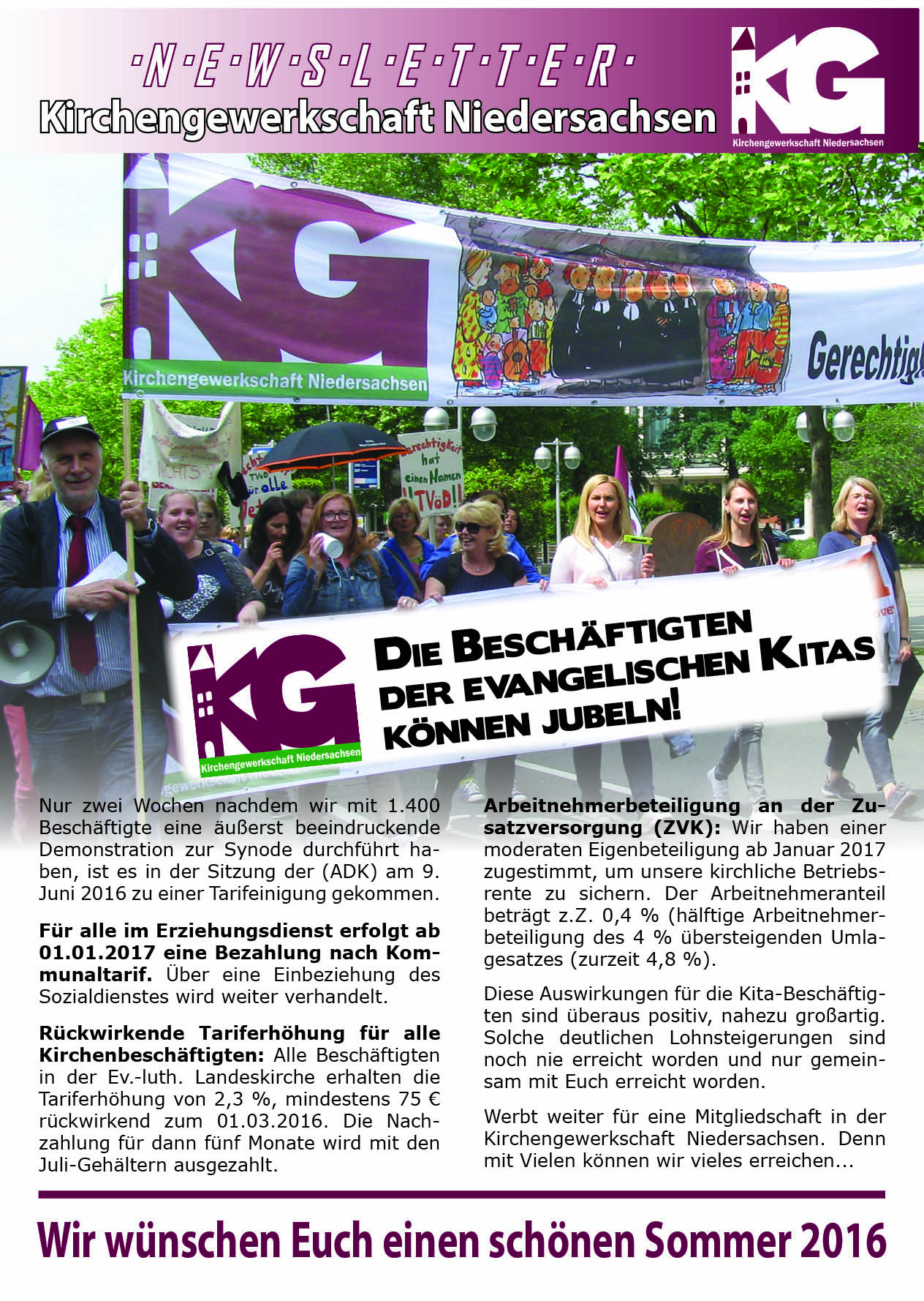 Newsletter-Kita-Sommer 2016